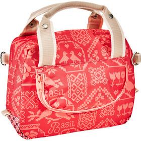 Basil Bohème City Handlebar Bag 8L vintage red